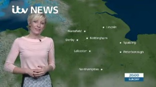 East Midlands Weather: Breezy, mild and cloudy night