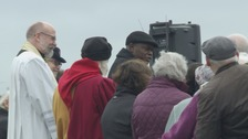 The Archbishop of York on Tadcaster Bridge