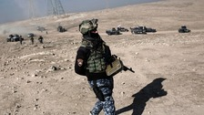 Iraqi troops make headway against IS in Mosul