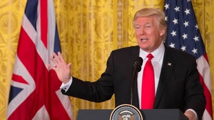 Protests over Donald Trump's state visit to be held across the Midlands