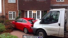 Drunk milkman crashes into house causing £40,000 damage