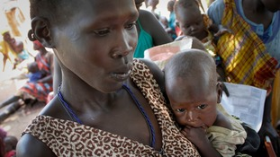 South Sudan famine declared as thousands starve