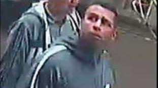 The assault suspect