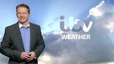 Simon has the latest ITV Meridian weather