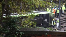 Croydon tram crash driver 'lost awareness'