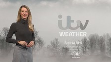 Fog will stay but winds picking up overnight