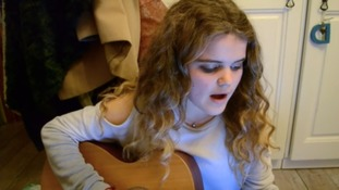 Cornish teenager on her way to international fame after YouTube performance goes viral