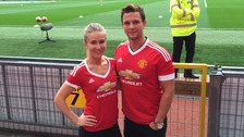 United players make love match come true at Old Trafford