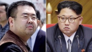 Kim Jong-nam, left, was estranged from his younger brother, North Korean leader Kim Jong-un.