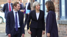 "Theresa May visits Stoke ahead of ""really important"" by-election"