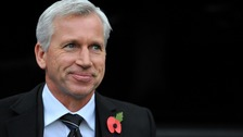 Alan Pardew, Newcastle United manager.