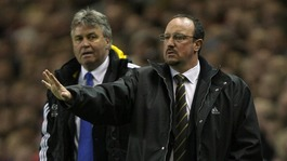 Hiddink and Benitez