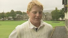WATCH: Young Ben Stokes chats to Border TV
