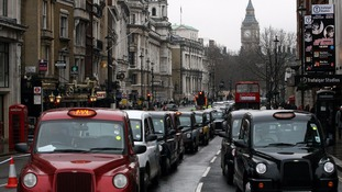 Uber has become a major rival to the traditional black cab and mini-cab business in the capital.