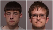 Keith Lowe,L, and Joshua Hack, R, have been jailed for murder
