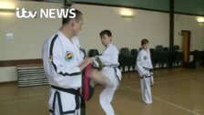 Taekwon-Do dad giving sons a lesson in tough love