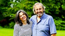 Helen Bailey with fiance Ian Stewart