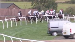 Carlisle Racecourse.