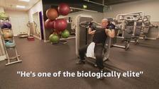 Fantastic Freddie hits the gym six days a week aged 80
