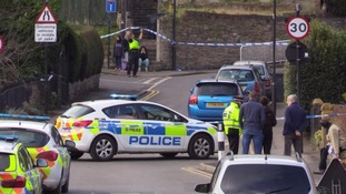 The scene of the shooting in Sheffield on Saturday.