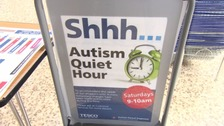 Supermarket has 'quiet hour' to help those with autism