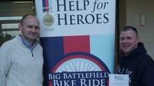 Veteran pedals thousands of miles for Help for Heroes