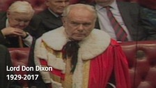 Tributes paid to former Jarrow MP Lord Dixon