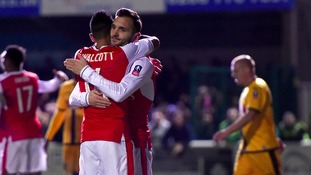 FA Cup match report: Sutton United 0-2 Arsenal
