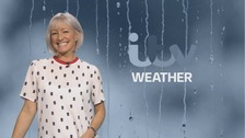 Wales weather: A damp start