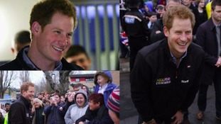 Prince Harry's visit to the North East