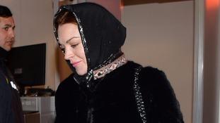 Hollywood star Lindsay Lohan met the Turkish President last year.