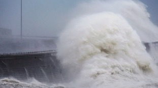The Met Office is warning of storm weather in the Anglia region on Thursday.