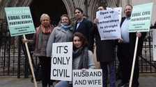 Heterosexual couple lose latest civil partnership battle