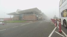 Fog wreaks havoc for travellers