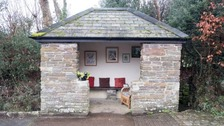 Village bus stop transformed by mystery interior designer