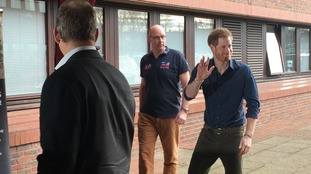Prince Harry visits the North East