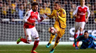 Winning all that mattered at Sutton - Arsenal midfielder Oxlade-Chamberlain