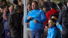 Wayne Shaw's pie-eating 'stunt' under investigation