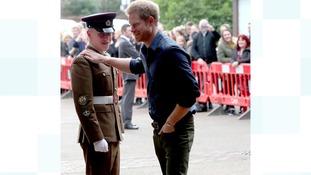 Prince Harry in Gateshead