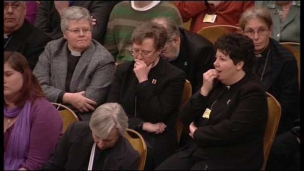 The Church of England General Synod voted against having women bishops