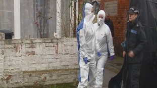 Forensic officers search home of murderer Christopher Halliwell
