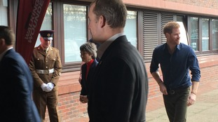 Prince Harry's visit to the North East continues