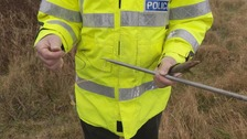 Illegal snares found in Jersey could 'break a dog's leg'