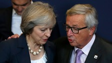 Juncker warns of 'pricey' Brexit - but Carney strikes optimistic tone
