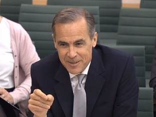 Bank governor Mark Carney said Brexit may run more 'smoothly' than he had predicted.