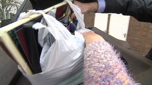 A man from Cambridge says her council was heavy-handed for fining her for leaving rubbish next to a full bin.