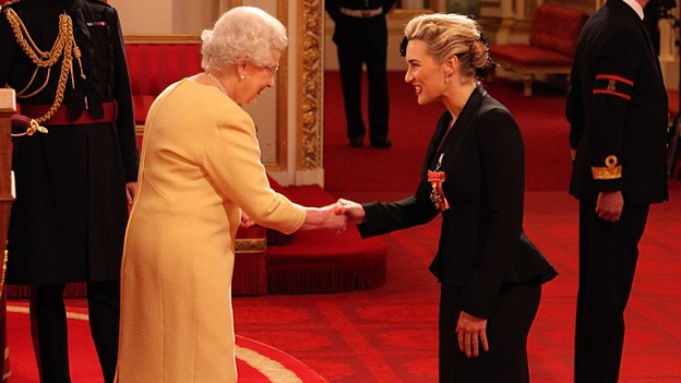 Kate Winslet and Queen