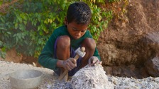 India's shameful child labour mining for beauty industry sparkle