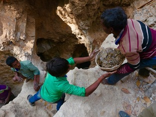 India's illegal mines are run by cartels that make huge profits while workers earn a pittance.