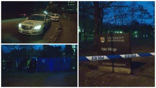 Man's body found near University of Birmingham
